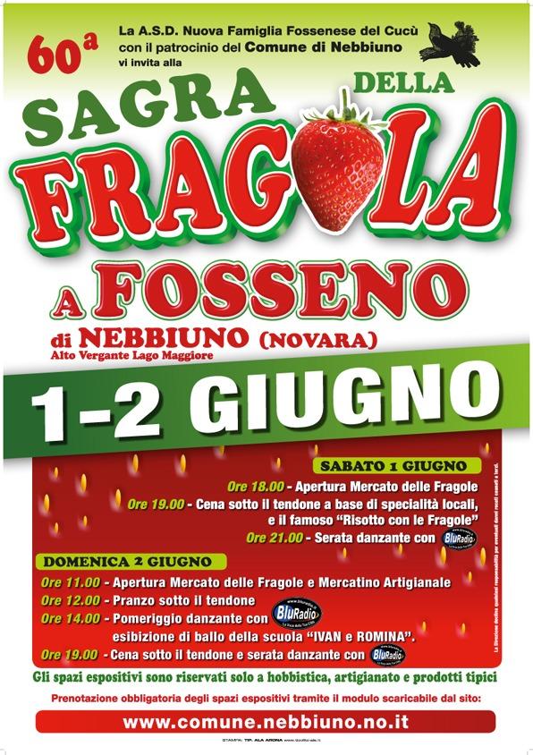 Sagra della Fragola di Fosseno 60° edizione