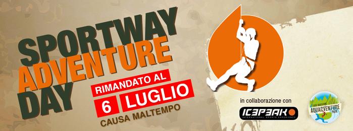 SPORTWAY ADVENTURE DAY 6 Luglio Baveno