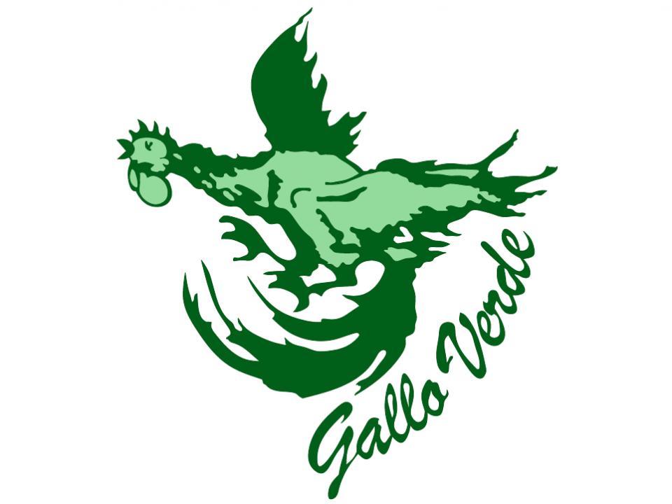 logo gallo verde gattico ristorante pizzeria