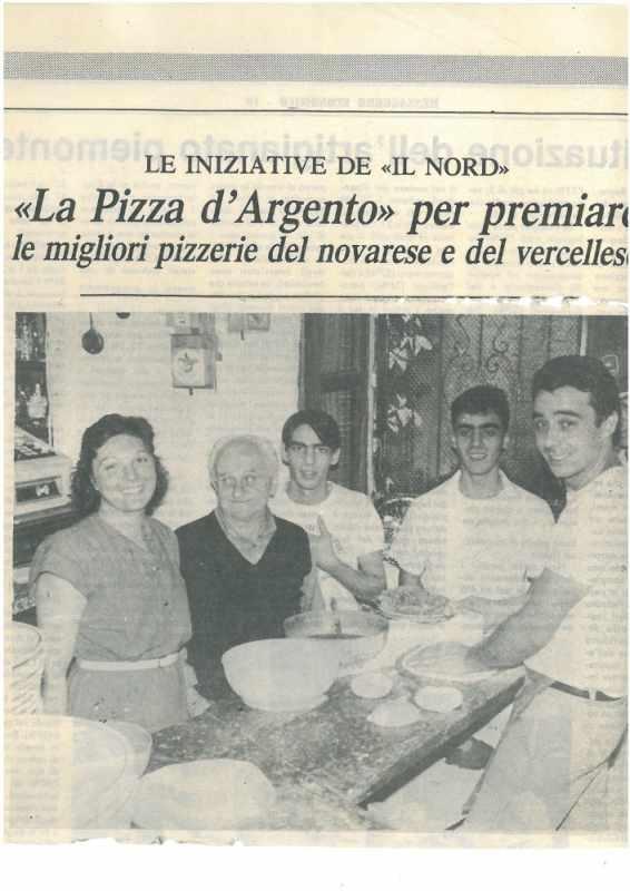 premio pizza d'argento camera di commercio novara