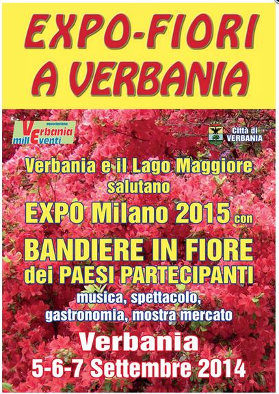 EXPO FIORI A VERBANIA locandina