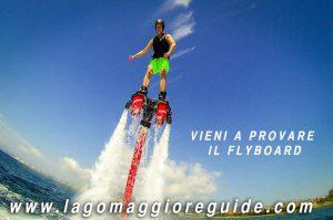 flyboard lago maggiore