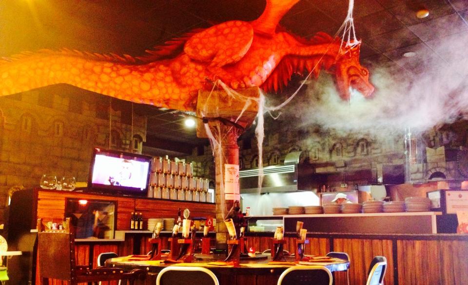 fabbrica della birra castelletto ticino tavolo del drago