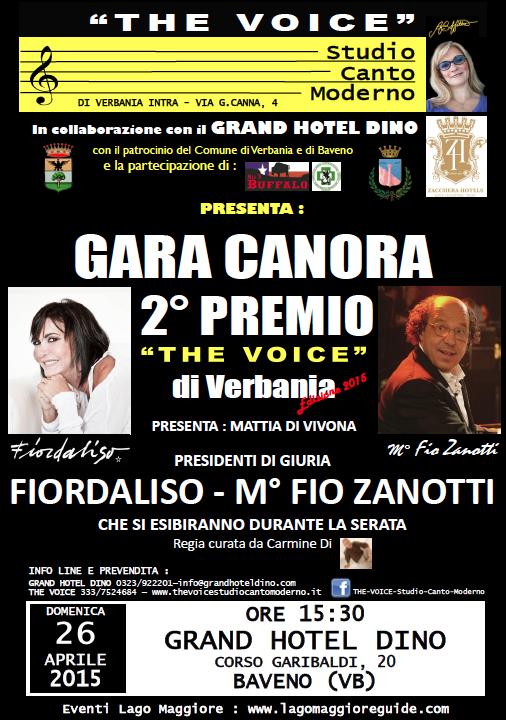 The Voice Gara canora 2° edizione
