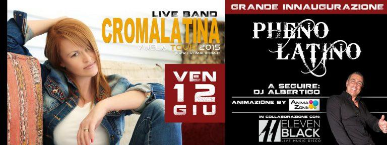 GRANDE INAUGURAZIONE STAGIONE LATINA – venerdi 13/06 al PHENOMENON!