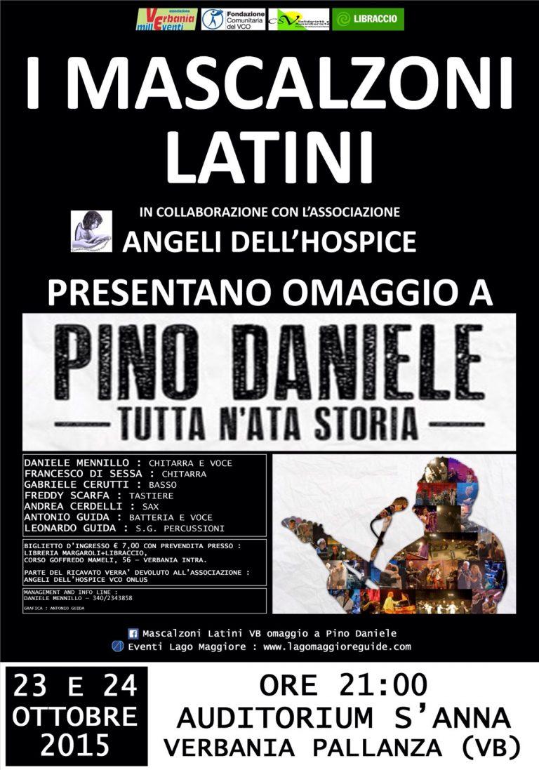 Omaggio a Pino Daniele a Verbania