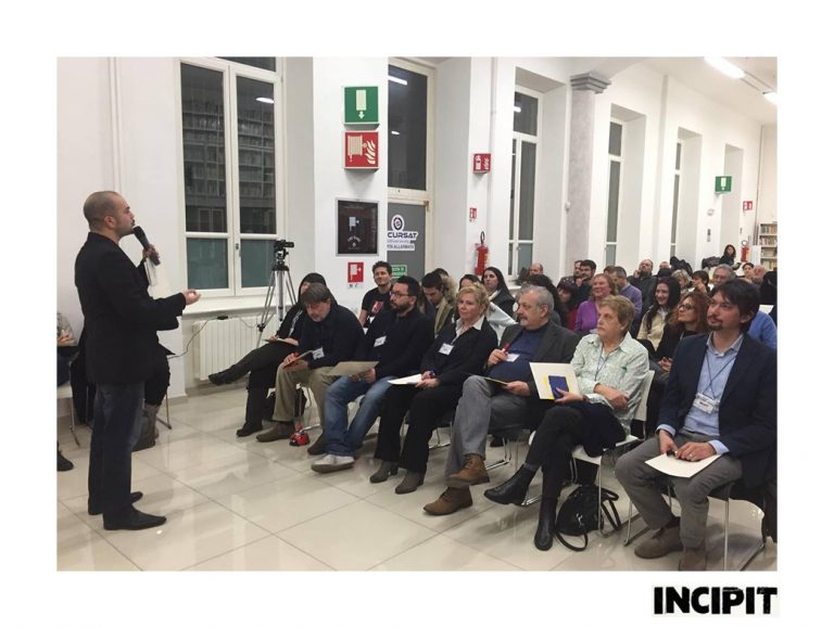 incontro Incipit a  Verbania Sabato 27 febbraio 2016