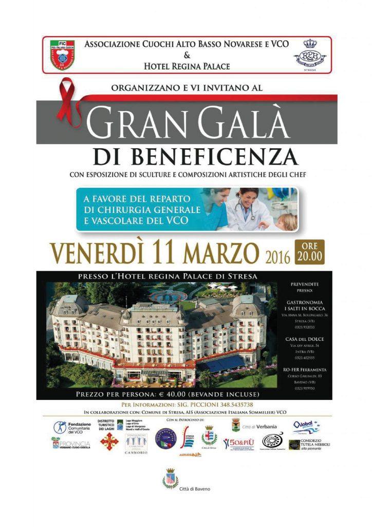 Cena 11 marzo 2016 - Associazione Cuochi Novara e VCO