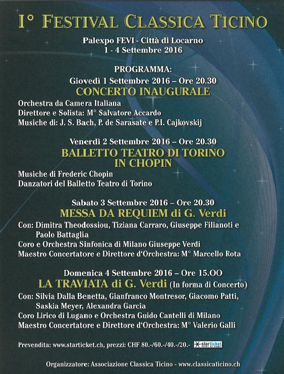 Festival Classica Ticino