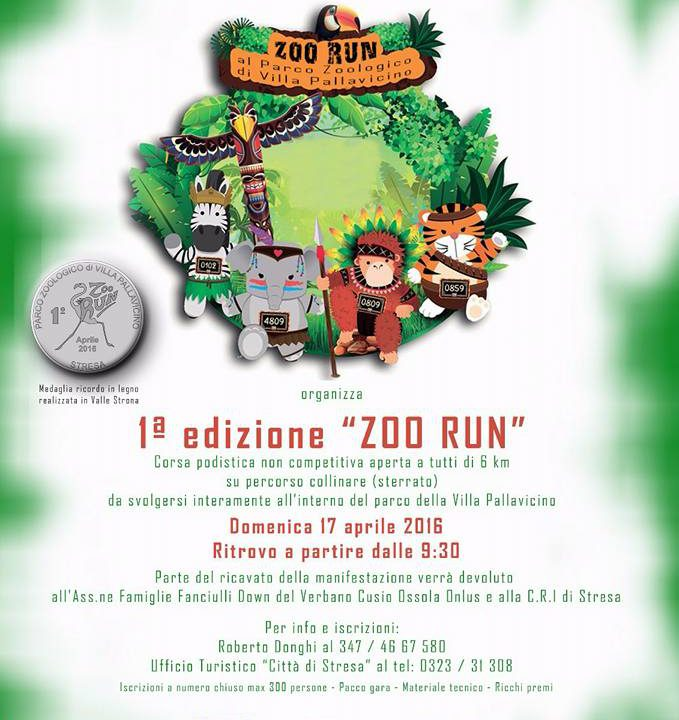 zoo run villa pallavicino