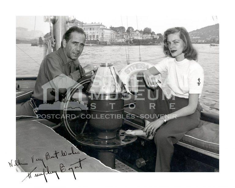 Vip a Stresa Humphrey Bogart Lauren Bacall