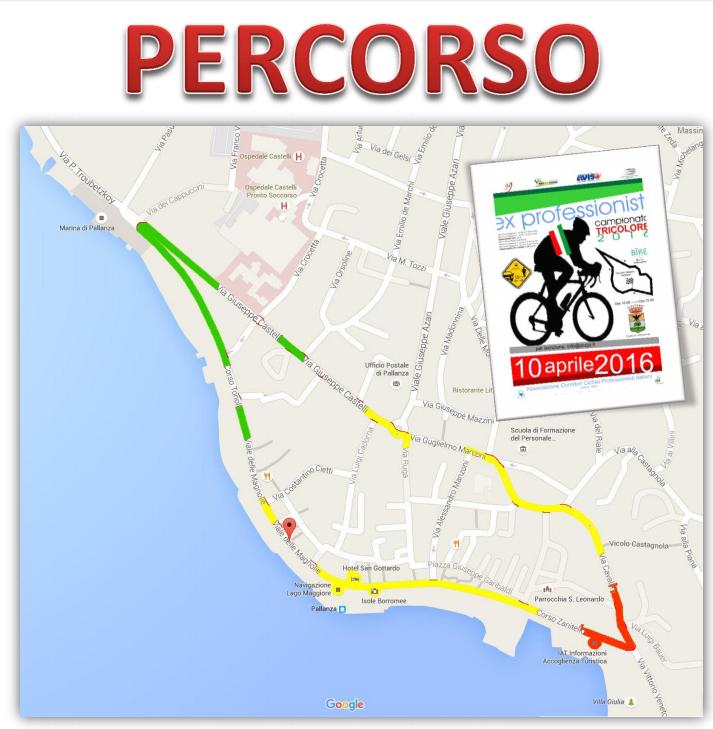 campiopnato italiano ciclismo ex professionisti verbania