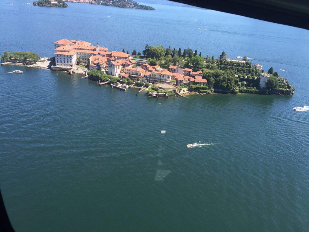 volo elicottero lago maggiore l'ago d'orta stresa baveno verbania isole borromee isola bella, iola pescatori isola madre
