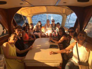 addio la nubilato in barca lago maggiore
