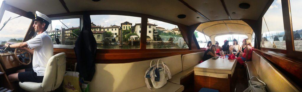 escursione in barca lago maggiore