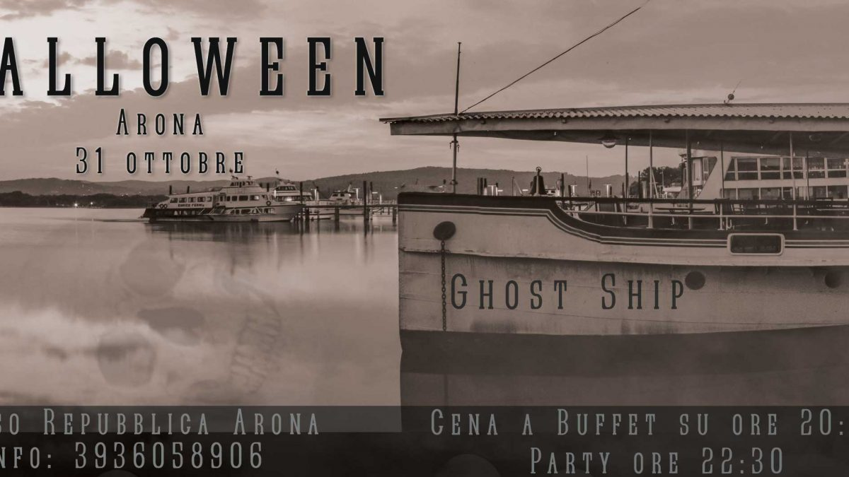 halloween-arona-battello-lago maggiore