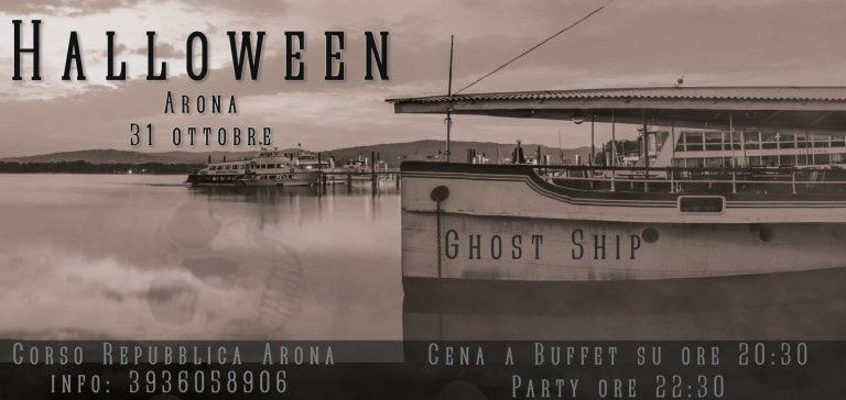 Halloween Ghost Ship ARONA 31 Ottobre