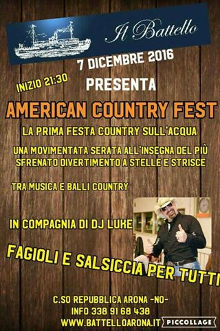 country fest arona battello