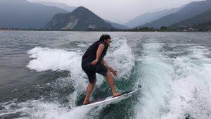 wakebaord Lago Maggiore