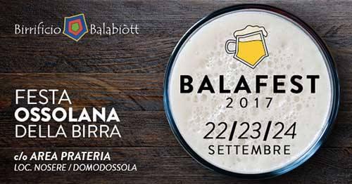 Balafest Festa Ossolana della Birra