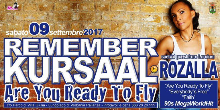 Remember Kursaal 9 settembre 2017