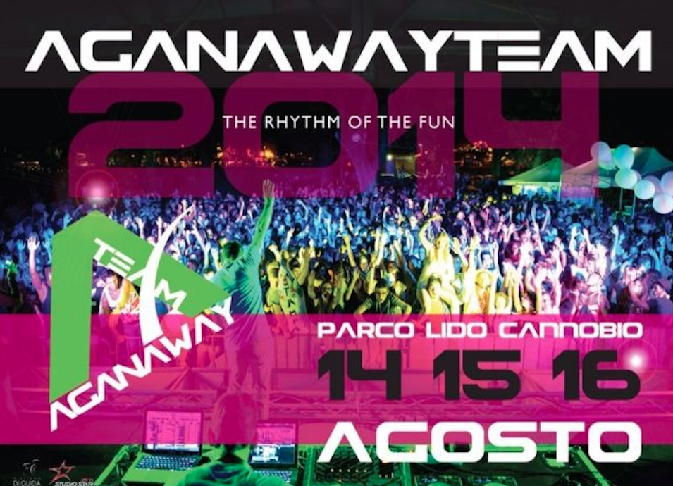 AGANAWAY PARTY Cannobio