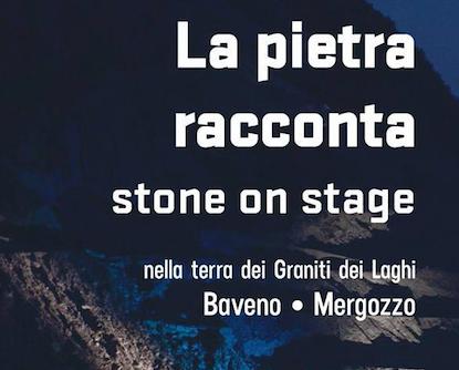 LA PIETRA RACCONTA stone on stage
