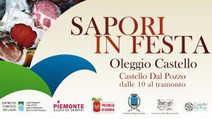Sapori in festa - Castello Dal Pozzo - Oleggio Castello
