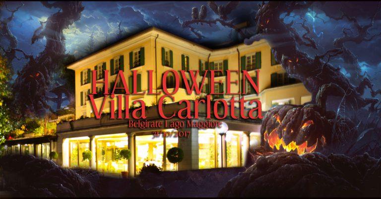 Halloween a VILLA CARLOTTA Lago Maggiore