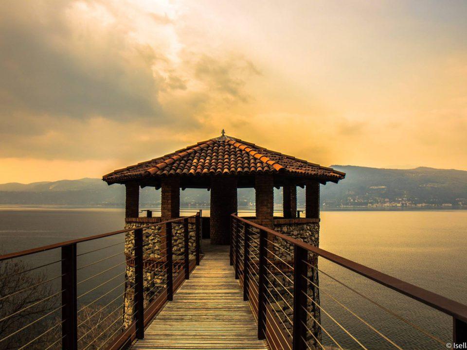 Ispra provincia di varese Lago maggiore