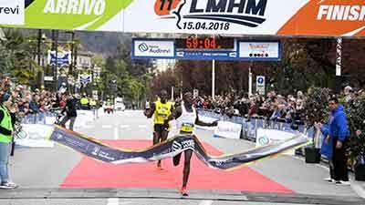 Record Half Marathon Lago Maggiore 2018