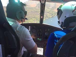 Volo in elicottero sul lago maggiore