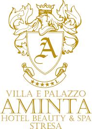logo villa aminta stresa lago maggiore