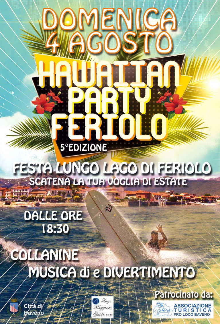 Feriolo hawaiian Party