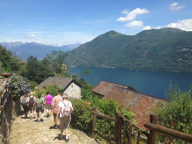 Escursione tra i laghi – Lago Maggiore, sulla vecchia via delle genti tra Cannobio e Cannero