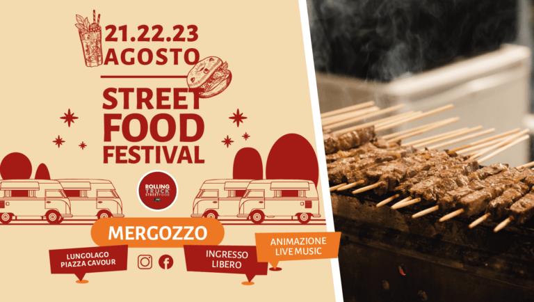 TORNA A MERGOZZO STREET FOOD FESTIVAL, DAL 21 AL 23 AGOSTO CIBO DI STRADA DI QUALITA' E MUSICA SUL LUNGOLAGO