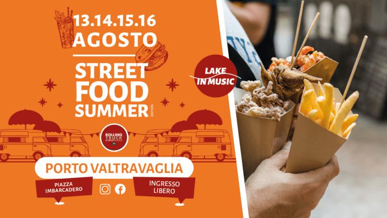 Torna a Porto Valtravaglia dal 13 al 16 agosto Street Food Festival e musica sul lungolago