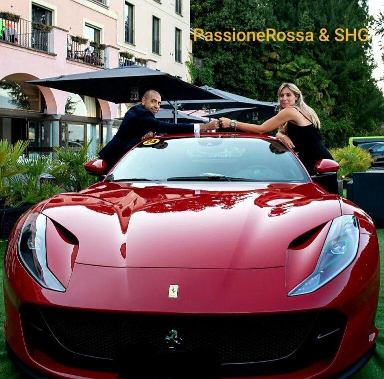 Ferrari Sul Lago Maggiore All'hotel Villa Carlotta